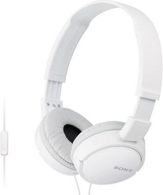 все цены на Накладные наушники Sony MDR-ZX 110 AP белый онлайн