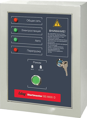 Блок автоматики Fubag Startmaster BS 6600 D 838221