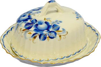 все цены на Масленка Добрушский фарфор 9С0135 Тюльпан 600 см3 ''Татьяна'' онлайн