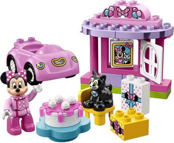 Конструктор Lego DUPLO Disney: День рождения Минни 10873 lego duplo lego 10873 день рождения минни
