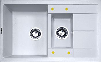 Кухонная мойка Zigmund & Shtain Rechteck 780.2 млечный путь