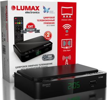 Фото - Цифровой телевизионный ресивер Lumax DV 2105 HD электронная книга