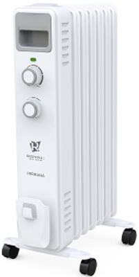 Радиатор RoyalClima ROR-F9-2000 M биметаллический радиатор rifar рифар b 500 нп 10 сек лев кол во секций 10 мощность вт 2040 подключение левое