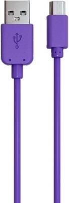 Кабель Red Line USB-micro USB фиолетовый