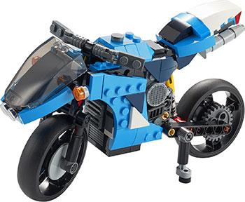Фото - Конструктор Lego CREATOR ''Супербайк'' 31114 lego creator городской магазин игрушек 31105