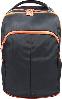 Рюкзак Silwerhof Power черный/оранжевый неоновый