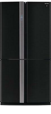 Многокамерный холодильник Sharp SJ-FP 97 VBK цена и фото
