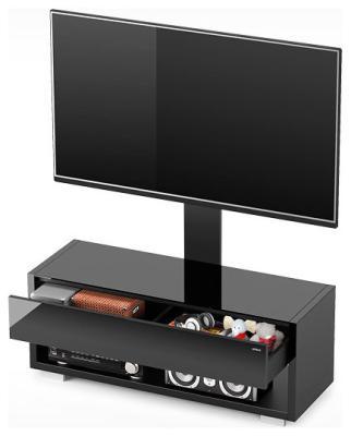 лучшая цена Стойка Alteza Albero TV-43110 черный