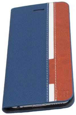 Чехол (флип-кейс) Promate Teem-i6 синий чехол флип кейс promate tama s5 синий