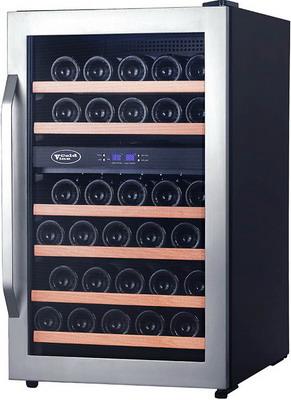 лучшая цена Винный шкаф Cold Vine C 34-KSF2 серебристый