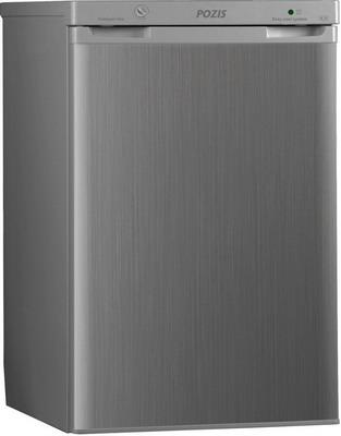 Однокамерный холодильник Позис RS-411 серебристый металлопласт цена и фото