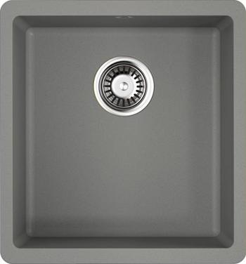 Кухонная мойка OMOIKIRI Kata 40-U-GR Artgranit/Leningrad Grey (4993397) кухонная мойка omoikiri kata 20 u gr artgranit leningrad grey 4993376