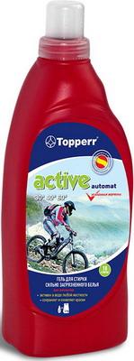 Гель для стирки сильнозагрязненного белья Topperr ACTIVE A 1619 отбеливатель ns для сильнозагрязненного белья 400г