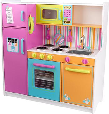 Набор кухня KidKraft 53100_KE ''Делюкс'' кухня детская kidkraft классик