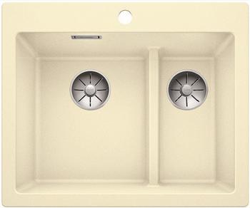 Кухонная мойка Blanco PLEON 6 Split жасмин без клапана 521694 фото