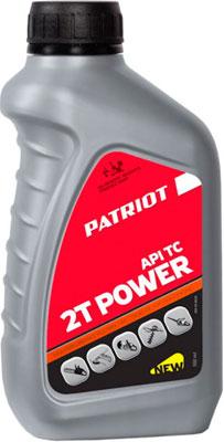 Масло Patriot POWER ACTIVE 2T 0 592л 850030628 масло patriot super active 2t 0 946л 850030596