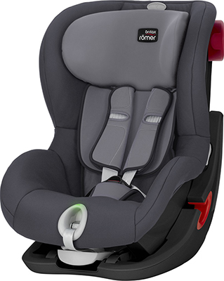 Автокресло Britax Roemer King II LS Black Series Storm Grey Trendline 2000025255 автокресло britax romer king ii ls black series football edition highline