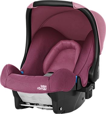 Автокресло Britax Roemer Baby-Safe Wine Rose Trendline 2000027813 адаптер britax roemer адаптер baby safe click