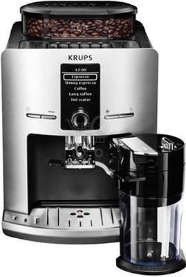 Фото - Кофемашина автоматическая Krups EA 829 E 10 кофемашина krups ea 891d