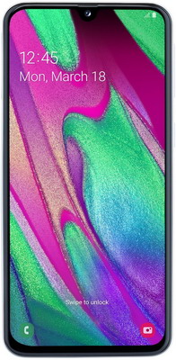 Смартфон Samsung Galaxy A40 32GB SM-A405F (2019) белый смартфон samsung galaxy s7 sm g930f 32gb black