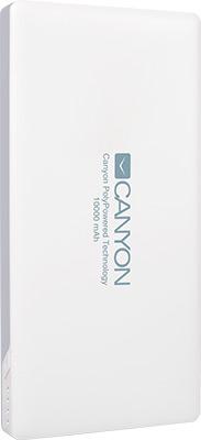 Внешний аккумулятор Canyon CNS-TPBP 10 W Белый