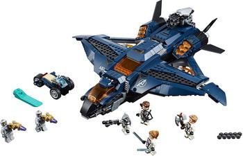 Конструктор Lego SUPER HEROES Модернизированный квинджет Мстителей 76126