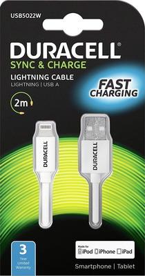 Фото - Кабель Duracell USB 5022 W-RU MFI кабель duracell usb 5023 w ru