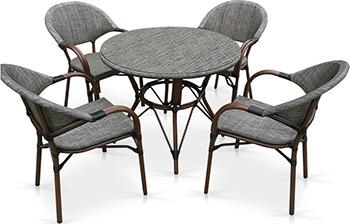 Комплект мебели Афина T 071/C 029-TX D 90 4Pcs крестильный комплект арго 029 б