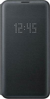 Чехол (флип-кейс) Samsung S 10 e (G 970) LED-View black EF-NG 970 PBEGRU цена