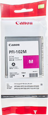 Фото - Картридж Canon PFI-102 M 0897 B 001 Пурпурный canon pfi 102