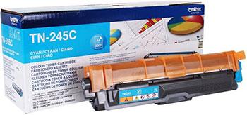 Тонер-картридж Brother TN 245 C голубой картридж для принтера brother tn 1075