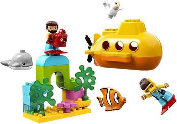 Конструктор Lego DUPLO Town 10910 Путешествие субмарины путешествие от золомастера