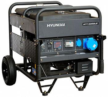 Электрический генератор и электростанция Hyundai HY 12000LE