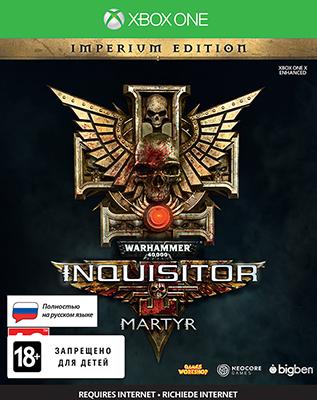 Игра для приставки Microsoft Xbox One Warhammer 40 000: Inquisitor - Martyr. Imperium Edition все цены