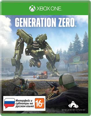 Игра для приставки Microsoft Xbox One Generation Zero Стандартное издание