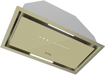 Вытяжка Korting KHI 6997 GB Бежевое стекло вытяжка korting khi 6997 gb бежевое стекло