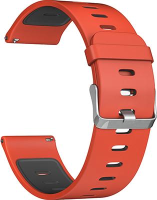 Ремешок для часов Lyambda универсальный для часов 22 mm ADHARA DS-GS-08-22-RB Red/Black ir40 patterns rb red