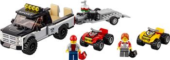 Конструктор Lego CITY ''Гоночная команда'' 60148 конструктор city lego lego mp002xb00c9t