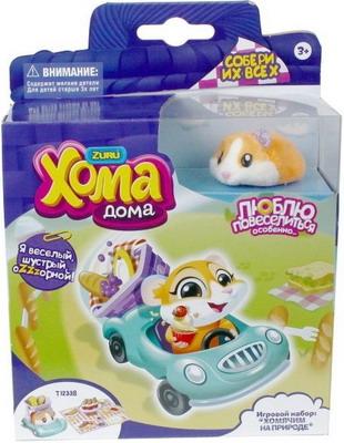 Набор игровой 1 Toy ''Хома Дома'' ''Хомячим на природе'' Т12338 игровой набор 1toy хома дома хома хомбургер