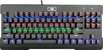 Клавиатура механическая Redragon Visnu RU Rainbow Full Anthi-Ghost (75025)