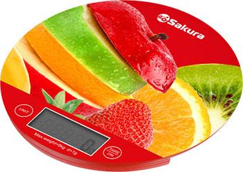 Весы кухонные электронные Sakura SA-6076F