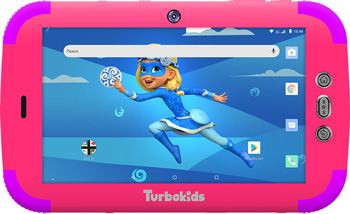 Планшетный компьютер Turbo ''TurboKids Princess'' (3G 16 Гб) РТ00020521 компьютер