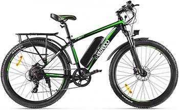 Велогибрид Eltreco XT 850 new черно-зеленый-2143 022299-2143 бра 2143 loft2143w