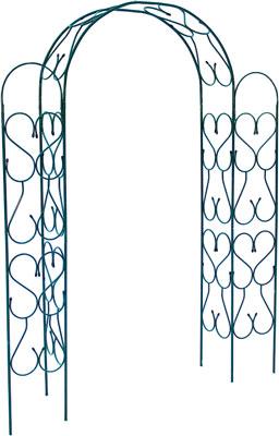 Арка садовая разборная угловая Лиана ЗА-293