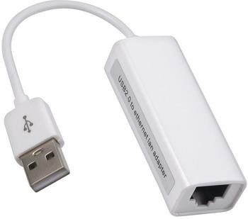 Фото - Адаптер Red Line USB A – Ethernet(100Mbit) белый УТ000022790 zc300 ds usb ethernet