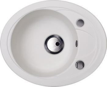 Кухонная мойка Kuppersberg CAPRI 1B1D S WHITE ALABASTER (7022) цена