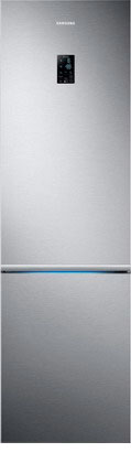 Двухкамерный холодильник Samsung RB 37 K 6220 SS/WT цена 2017