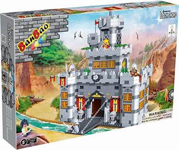 Конструктор BanBao Замок рыцарей конструктор игровой playmobil 6002 рыцари замок рыцарей волка