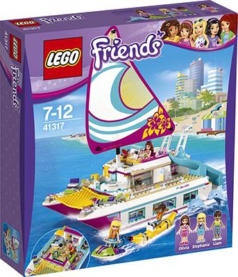 Конструктор Lego Friends Катамаран ''Саншайн'' 41317 lego lego friends 41317 катамаран саншайн
