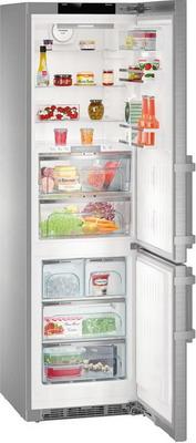 лучшая цена Двухкамерный холодильник Liebherr CBNPes 4878-20